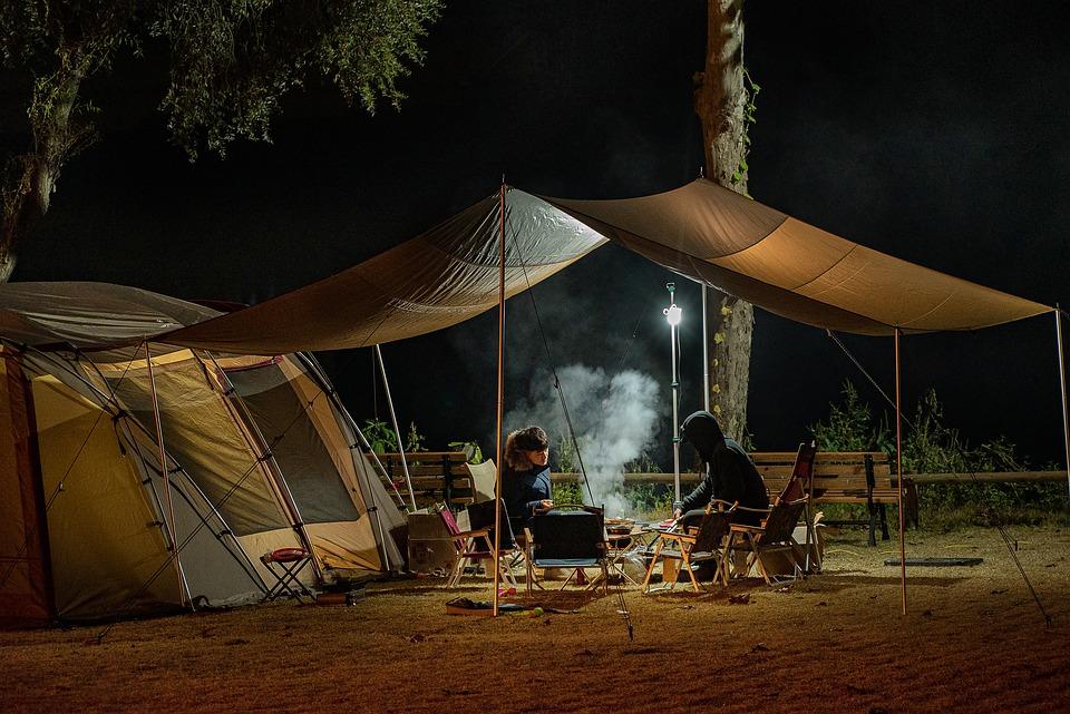cucina in campeggio