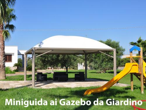 gazebi da giardino