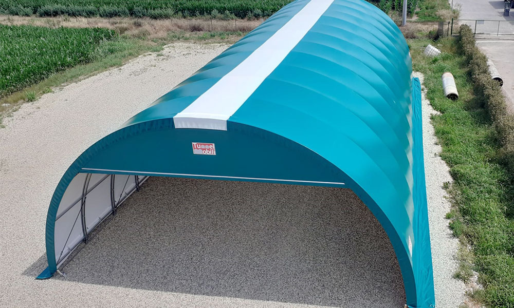 tunnel agricoli in pvc