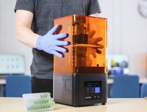 Funzionalità di una stampante 3d a resina liquida 4