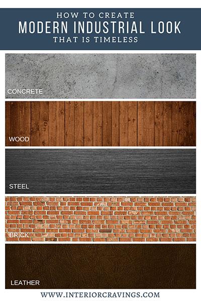 Palette Colori Principali Stile Industrial